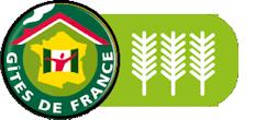 Gîtes de France labellisés 3 épis