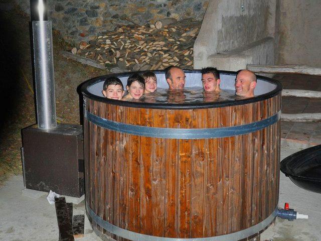 Baño noruego - Casas Rurales la Costa de Dalt
